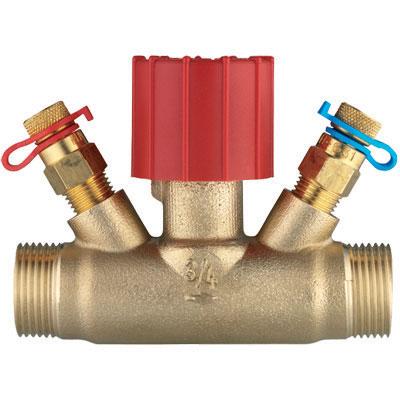 Ventil sa ručnom regulacijom mesingani ventil sa ravnim sedištem, spoljašnji navoj