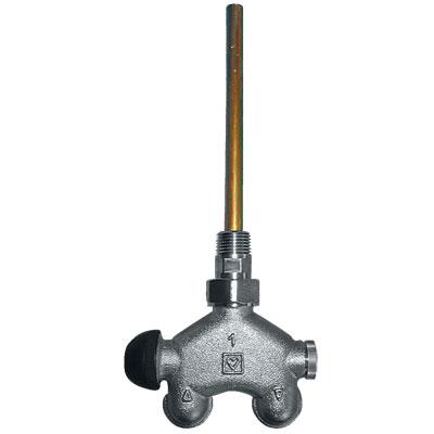 VUA-50 četvorokraki termostatski ventil sa četiri priključka za jednocevne sisteme, priključak M 30 x 1.5