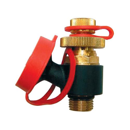 Priključak za merni računar i ventil za pražnjenje