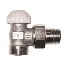 TS-90-termostatski ventil - ugaoni model