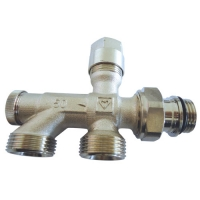 Donji usponski ventil za jednocevni sistem grejanja - PROJECT serija