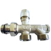 Donji usponski ventil za dvocevni sistem grejanja - PROJECT serija