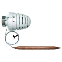 Dizajnirana termostatska glava sa nalegajućim senzorom sa priključnim navojem M 28 x 1,5
