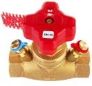 STRÖMAX-GM, Ventil za regulisanje usponskih vodova, pravi model, sa mernim ventilima