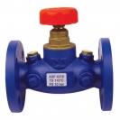 STRÖMAX-AGF-zaustavni ventil sa ravnim sedištem, sa prirubnicom