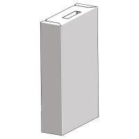 HERZ kućište za HERZ kompaktne grejne stanice za stambenu ugradnju (belo, emajlirano RAL 9003)