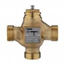 Trokraki mešni i razdelni ventil