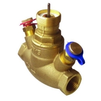 Regulacioni i kontrolni ventil sa mernom blednom i elektromotornim pogonom, GV