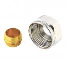 Kompresiona steznica za čelične i bakarne cevi, spoj metal - metal