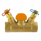 Termostatski regulacioni ventil STRÖMAX-TS-98-V, pravi model sa mernim ventilima, unutrašnji navoj