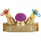 Termostatski regulacioni ventil TS-99-FV, pravi model sa mernim ventilima, spoljašnji navoj