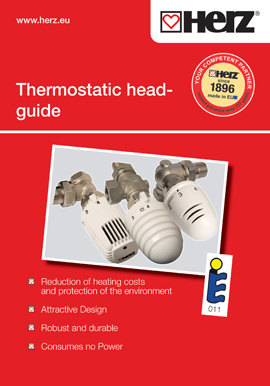 Thermostatic head - guide