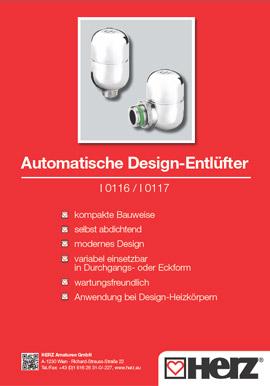 Automatische <br> Design-Entlüfter