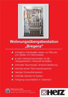 """Wohnungsübergabestation """"Bregenz"""""""