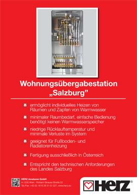 """Wohnungsübergabestation """"Salzburg"""""""